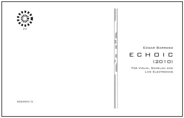 ECHOIC by Edgar Barroso