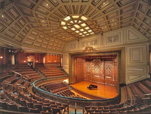 Concert at The New England Conservatory – Jordan Hall