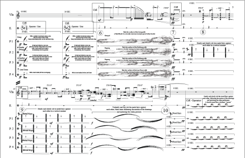 """ECHOIC"" published by ""European American Music"" as part of the The SCI Journal of Music Scores."