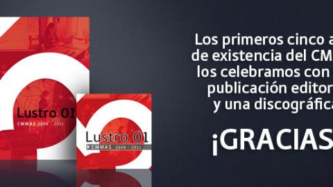 """""""Logos"""" de Edgar Barroso parte del CD """"Lustro"""" recopilación de piezas representativas comisionadas por el Centro Nacional para la Música y las Artes Sonoras [ CMMAS ] en sus primeros 5 años de existencia"""