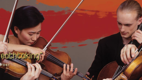 """""""ENGRAMA"""" by Edgar Barroso winner of the Blodgett String Quartet Composition Prize. """"Engrama"""" will be performed by the Chiara String Quartet at Sanders Theater on February 19, 2013"""