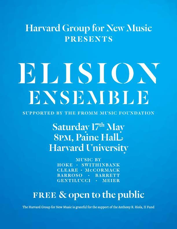 Edgar Barroso - Elision Ensemble