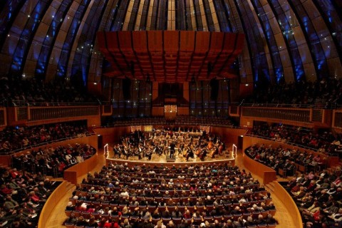 """Logos"" at the Tonhalle Düsseldorf – Ensemble Aventure Robert HP Platz, Dirigent"